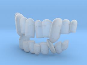 Fabulous Elzing aka 6in scale teeth. in Smooth Fine Detail Plastic