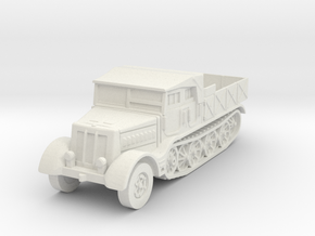 Sdkfz 9 FAMO (open) 1/87 in White Natural Versatile Plastic