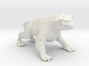 Ghostbusters 1/60 Terror Dog zuul gozer miniature in White Natural Versatile Plastic