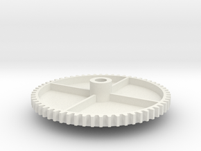 Male Louver Gear for Carrier Economizer Rooftop AC in White Natural Versatile Plastic