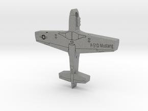 P-51D Mustang Pendant in Gray PA12