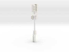 Traffic Light  - New York City O scale #2 in White Natural Versatile Plastic