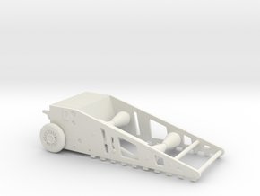 BIKE STARTER 1/12 scale for tamiya bike in White Natural Versatile Plastic