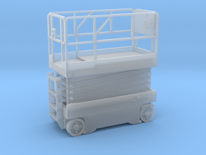 Scissor Lift 1-64 Scale in Smooth Fine Detail Plastic