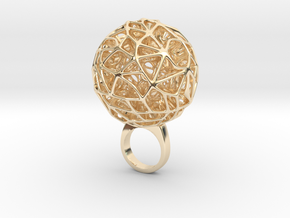Netwa - Bjou Designs in 14k Gold Plated Brass