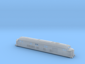 LMS 10000 Bodyshell (As Built Condition) in Smooth Fine Detail Plastic