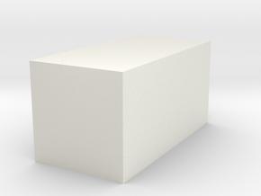 """.(period)"" inch size NES style pixel art font blo in White Natural Versatile Plastic"