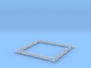 fish bracelet in Smooth Fine Detail Plastic