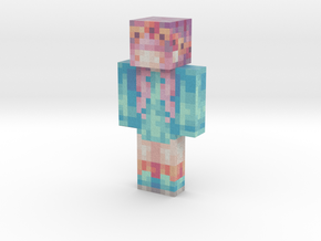 Pink_Gemini | Minecraft toy in Natural Full Color Sandstone