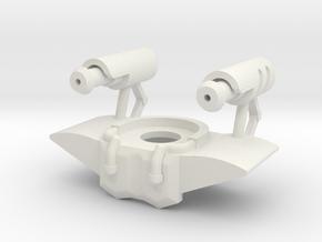 Fixer in White Natural Versatile Plastic