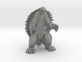Gamera Kaiju Monster Miniature for games and rpg in Gray Professional Plastic