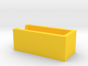 bcu filter fixture plastic in Yellow Processed Versatile Plastic