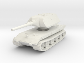 E 100 Maus 128mm 1/120 in White Natural Versatile Plastic