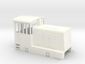 GE 25 TONNER in White Processed Versatile Plastic