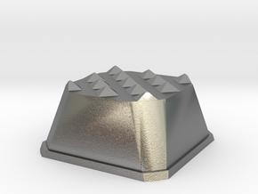 Truffle Shuffle 1 in Natural Silver