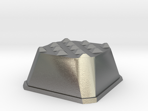 Truffle Shuffle 1a in Natural Silver