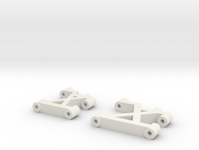 Tamiya TL-01 FF-01 Arms in White Natural Versatile Plastic