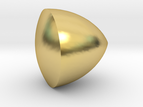 Solid of Constant Width in Polished Brass