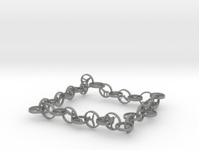 32 yoga pose bracelet (1) in Gray PA12