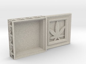 Stash Box Hemp in Natural Sandstone