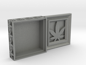 Stash Box Hemp in Gray PA12