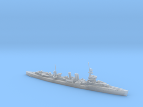 1/700th scale ORP Conrad polish light cruiser in Smooth Fine Detail Plastic