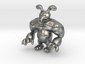 Mr Bun E in Natural Silver: Medium