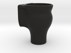 Fish Tank Feed Cup (Internal) in Black Natural Versatile Plastic