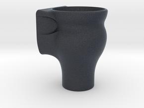 Fish Tank Feed Cup (Internal) in Black Professional Plastic