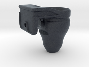 Fish Tank Feed Cup (Hanging) in Black Professional Plastic