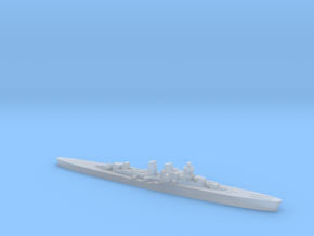 Giuseppe Garibaldi light cruiser 1:1800 WW2 in Smoothest Fine Detail Plastic
