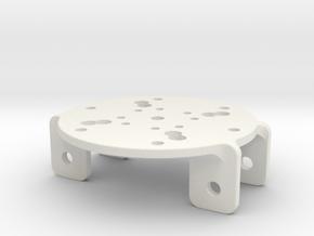 SAKE EZGripper Mount for HanRobot-3D-Print in White Natural Versatile Plastic