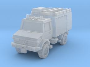 Unimog U1300L Fire in Smoothest Fine Detail Plastic: 1:220 - Z