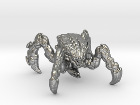 Doom Spider Mastermind 1/60 miniature games small in Natural Silver
