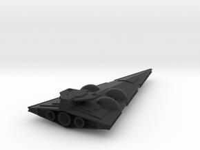 Imperial Interdictor crusier 1/7000th scale in Black Premium Versatile Plastic