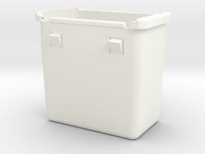 Lancia Delta Compartment BOX in White Processed Versatile Plastic