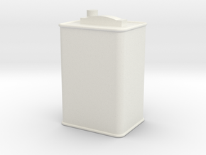 Printle Thing Oil Can 02 - 1/24 in White Natural Versatile Plastic