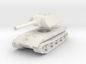 E 100 Maus 150mm 1/87 in White Natural Versatile Plastic