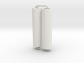 Slimline Pro plain lathe in White Natural Versatile Plastic