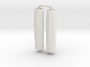 Slimline Pro hexagonal ARTG in White Natural Versatile Plastic