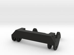 SCX10 Front Leaf Spring Combo in Black Natural Versatile Plastic