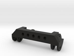 SCX10 Front Leaf Spring Combo V2 in Black Natural Versatile Plastic