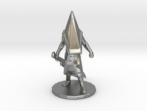 Silent Hill Pyramid Head 1/60 miniature fantasy rp in Natural Silver