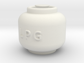 Printle Thing Propane Cylinder 01 - 1/24 in White Natural Versatile Plastic