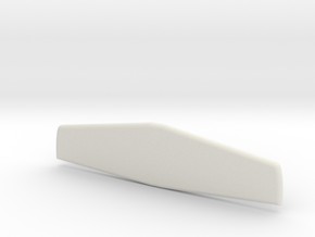 Lancair Legacy Horizontal Stabilizer in White Natural Versatile Plastic