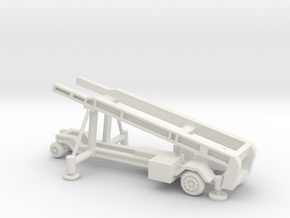 1/128 Scale MK4 Regulus Missile Launcher in White Natural Versatile Plastic