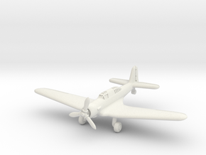 Northrop A-17A Nomad (Landing Gear extended) 1/285 in White Natural Versatile Plastic