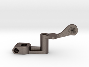LCP0106-T-32 THROTTLE Lever in Polished Bronzed-Silver Steel