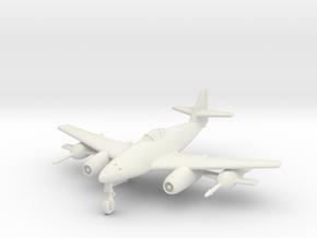 (1:144) Messerschmitt Me 262 C2b + (2x) Fa P-1 in White Natural Versatile Plastic