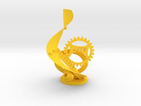 LETU Swag Statue - LETU 3D Printing in Yellow Processed Versatile Plastic